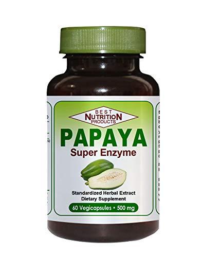 Amazon.com: Papaya Super enzima (ayuda digestiva): Health ...