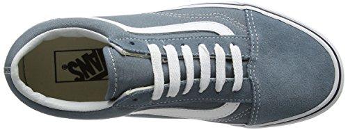 Camionnettes Unisexe Vieux Skool Classique Chaussures De Skate Gobelin Bleu / Vrai Blanc