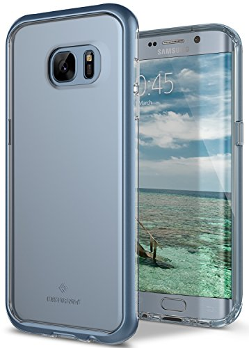 Galaxy S7 Edge Case, Caseology [Skyfall Series] Transparent Clear Slim Protective Scratch Resistant Air Space Technology for Samsung Galaxy S7 Edge (2016) – Blue Coral