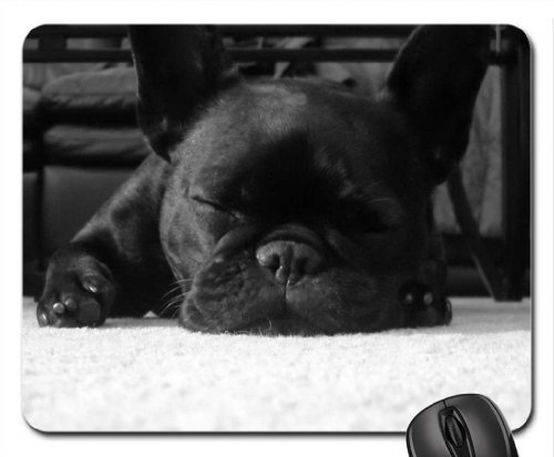 French Bulldog Mouse Pad - French Bulldog Mouse Pad, Mousepad (Dogs Mouse Pad)