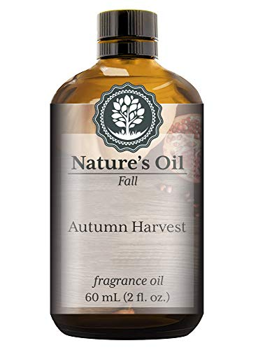 - Autumn Harvest Fragrance Oil (60ml) For Diffusers, Soap Making, Candles, Lotion, Home Scents, Linen Spray, Bath Bombs, Slime