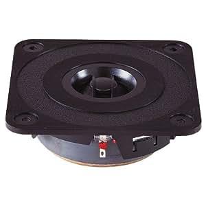 Black 25W High Quality 25mm Titanium Dome Tweeter (8ohmios)