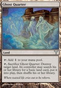 Magic: the Gathering - Ghost Quarter - Dissension