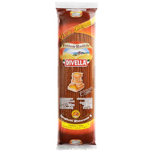 Divella Whole Wheat Spaghetti Ristorante No 8 17.6 oz