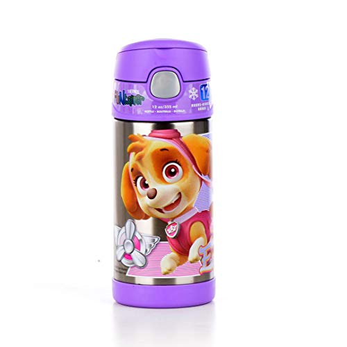 Thermos Stainless Steel Paw Patrol Girl FUNtainer Straw Bott