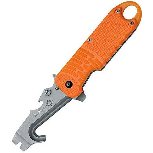 Fox Knives E.R.T Rescue, Orange Handle, w/Nylon Sheath FX-211 by Fox Knives