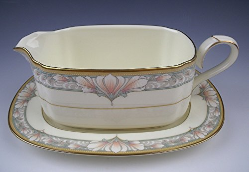 Noritake China Gravy Boat - Noritake China BARRYMORE Gravy Boat and Underplate EXCELLENT