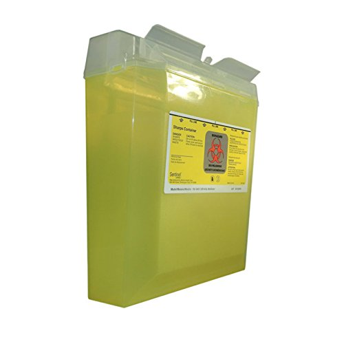 Bemis Healthcare 150 040 Bemis Healthcare Quality Medical Products Needle Disposal Products- 5 Quart Reg Size Wall Safe - Product Number : #150 040