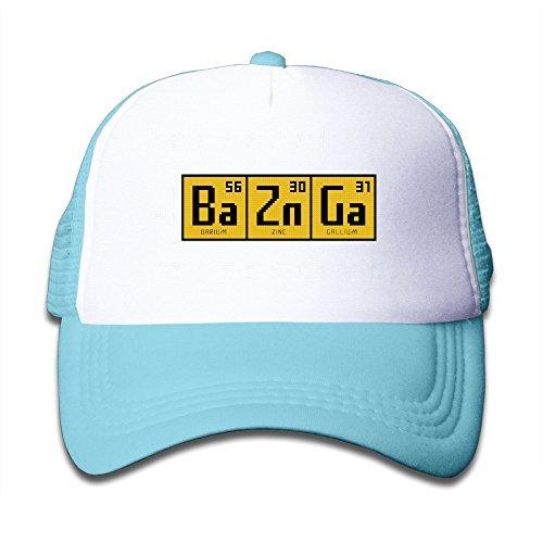 Adjustable Caps Children Big Bang Theory BAZINGA Chemical Elements Peak Mesh Hats (Sheldon Quilt)