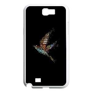 Samsung Galaxy N2 7100 Cell Phone Case White_songbird art Guhhd