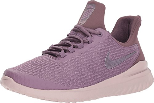 Nike Womens Renew Rival Running Shoes (8 M US, Violet Dust/Purple Shade/Particle Rose) (Nike Women Running Shoes Purple)