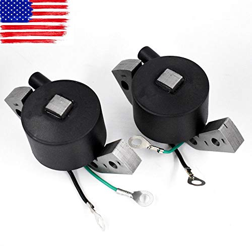 2 Pcs New Igintion Coil for OMC Johnson Evinrude Outboard 580416 582995 ()