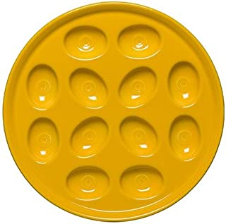 """product image for Homer Laughlin 13-1/8"""" Egg Tray, Daffodil"""