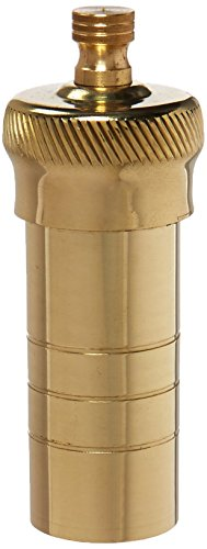 - Pepper Mill Imports Personal Pepper Mill with Pouch, Brass, 3