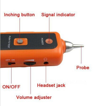 Buscador de Red Ethernet LAN Cable Tester Detector de Línea Telefónica perseguidor del alambre RJ11 RJ45 Cat5 Cat6 Cable Tester: Amazon.es: Electrónica