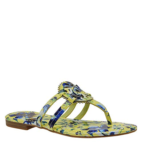 Circus by Sam Edelman Womens Canyon Open Toe Casual, Lime-Multi-Patent, Size 6.0