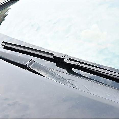 SLONGK Limpiaparabrisas, para Audi A4 B5 / B6 / B8 / B9 1995 1996 1997 1998 1999 2000-2018 Accesorios para Automóviles Limpiaparabrisas De Goma Suave: ...