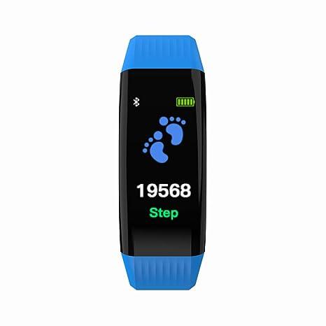 Cebbay Pulsera Inteligente con Pulsómetro Reloj Inteligente Rastreador de Fitness para Correr, Senderismo y Escalada