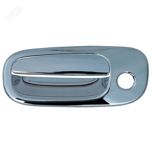 Handle Door Charger - Coast To Coast CCIDH68134B Chrome Door Handle Cover Without Passenger Side Keyhole - Pack Of 4