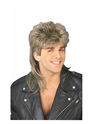Forum 70's Disco Mullet Wig, Blonde, One Size ()