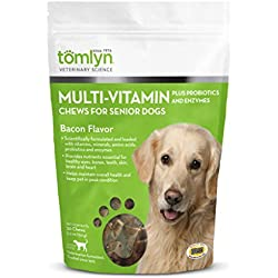 Tomlyn Multi-Vitamin Chews for Senior Dogs