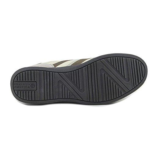 Perry Ellis Trainer Herren Runde Kappe Leder Ivory Walking Shoe Eis / Beige