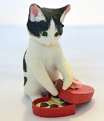 (Lenox Sweet Surprise Cat with Chocolates Figurine Sweet Kitty New in Box )