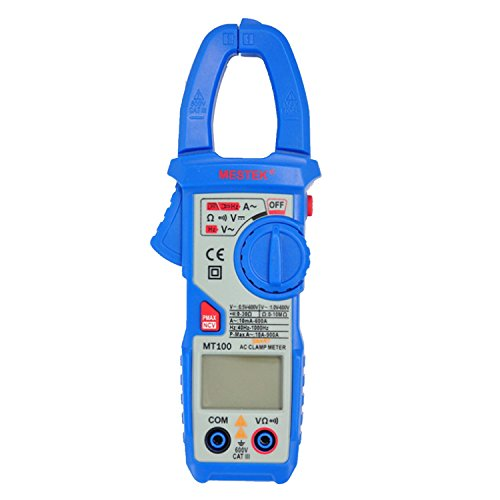 Easy Go Shopping Digital AC clamp meter Intelligence clamp ammeter Clamp...