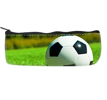 Balón de fútbol verde hierba estuche bolsa de deporte: Amazon.es ...