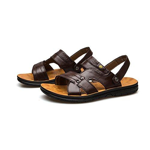 Casual Brown da Scarpe Pantofole Uomini Uomo Scarpe Classiche da Traspiranti Sandali Spiaggia nPnzwO7qR