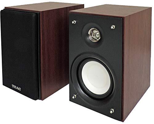 TEAC LS-101 2-Way Bookshelf Speaker System, Cherry
