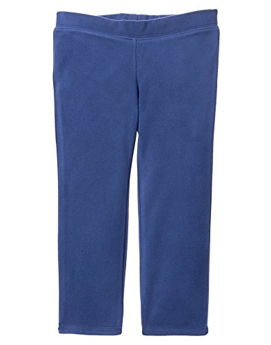 Crazy 8 Baby Girls Micro Fleece Pants, Navy, 6-12 (Baby Fleece Pant)