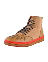 Gucci Men's Brown Leather Ankle Boots Shoes
