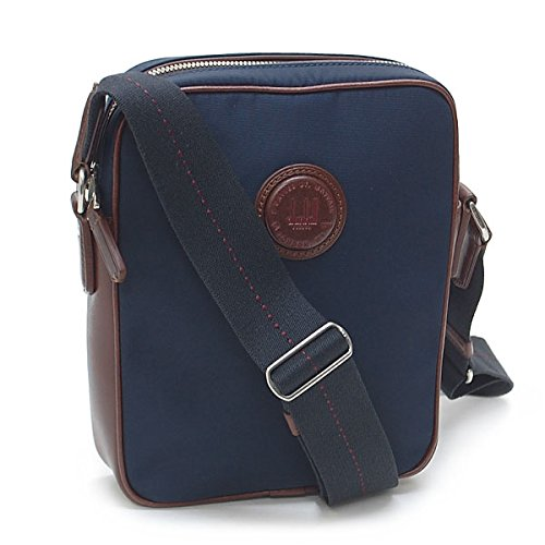 Price comparison product image Dunhill Guardsman City Reporter Bag Navy