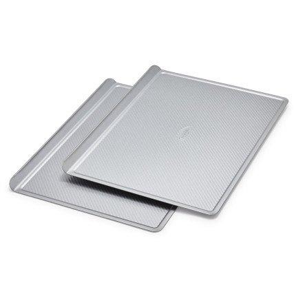 Sur La Table Platinum Professional Half Sheet Cookie Sheet Pan 21035LC, Set of 2