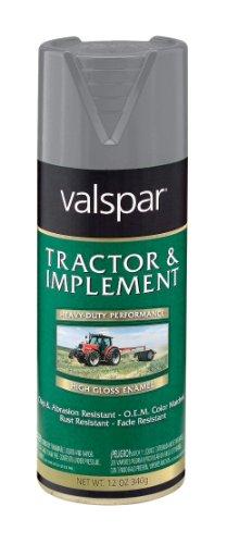 Implement Spray Enamel - Valspar 5339-33 Gray Tractor and Implement Spray Primer - 12 oz.