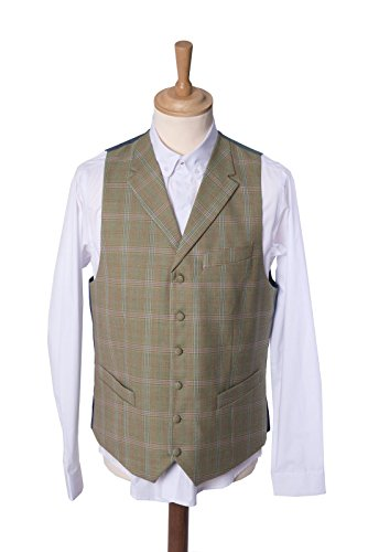 Maddox Street London - Gilet - Homme vert kaki Taille Unique