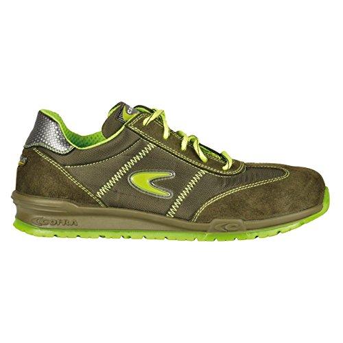 "Cofra 78400–002.w43Talla 43s1P SRC–zapatos de seguridad de ""kerr-–kaki"