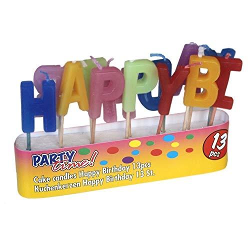 Edco Happy Birthday Velas Cumpleaños Velas Velas Pasteles ...
