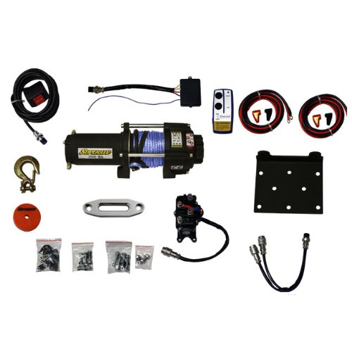SuperATV 3500 lb. Synthetic Rope ATV Winch -With Wireless Remote by Super ATV (Image #7)