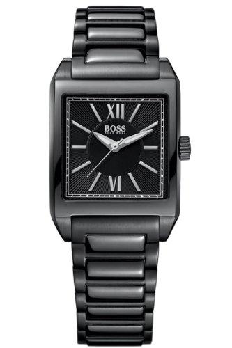 Hugo Boss Ladies Black Steel Bracelet Watch 1502236