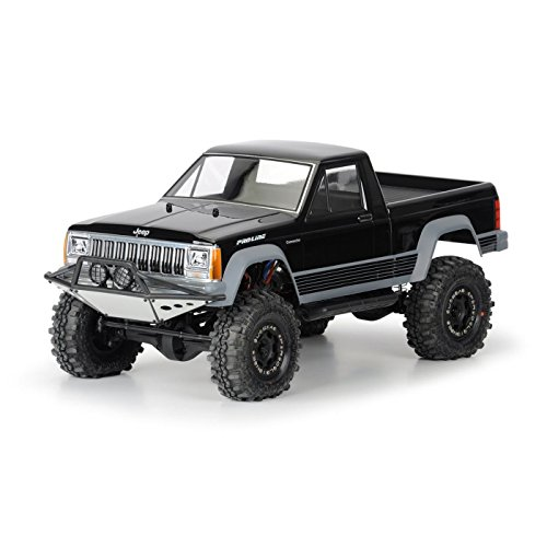 - Pro-Line Racing 336200 Jeep Comanche Full Bed Clear Body for 12.3, 313mm