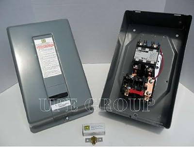 DP Motor Starter, 2P, 50A, 240V Coil, NEMA1