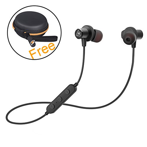 Bluetooth Headphones Sport, RAVEtone Wireless In-Ear Noise C