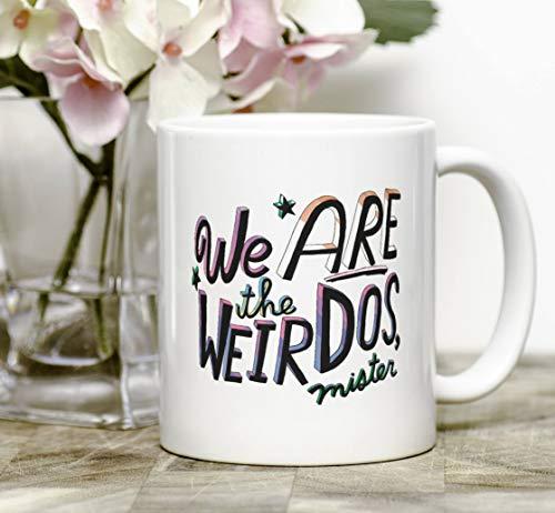 We Are The Weirdos, The Craft, Weirdo Mug, Weird Gifts, Weird Coffee Cup, Creepy Mug, Spooky Mug, Halloween Mug, Goth Mug, Goth Girl -