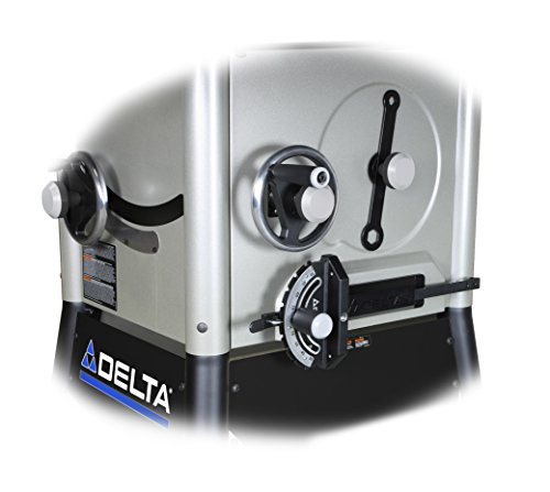Delta 36-5052 10-Inch Left Tilt Contractor Saw with 52-Inch RH Rip (Steel Wings)