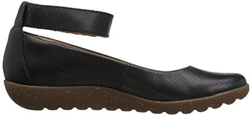 Clarks Women's Medora Nina Flat, Brown Black Leather