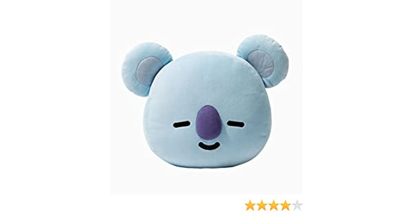 Amazon.com: KPOP Cute Cartoon BTS BT21 Plush Doll Toy Bangtan Boys Throw Pillow Cushion 17.7