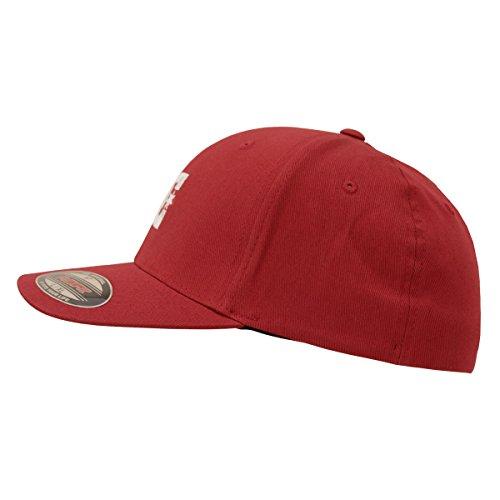 Flexfit hombre de Rio Gorra Cap DC Star Shoes Red 2 qIPP0S