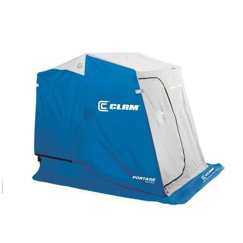 Clam 9940 4567-0703 Portage 2 Man W/Basic Jig by Clam Corporation